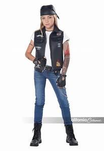 cool kid biker vest child california costumes