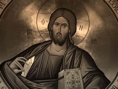 Orthodox Icon Jesus Icons Christ Religious Windows