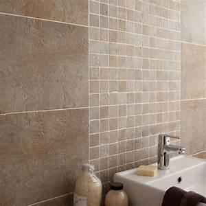 carrelage vestige artens gres cerame teinte masse beige With carrelage salle de bain beige