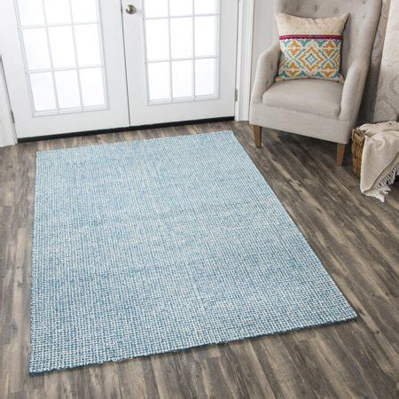 Teal Rug Walmart by Rizzy Home Br651a Teal 9 X 12 Tufted Area Rug