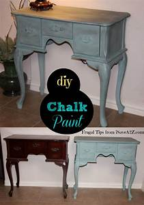 how to make homemade chalk paint diy arts and crafts With what kind of paint to use on kitchen cabinets for penny board stickers