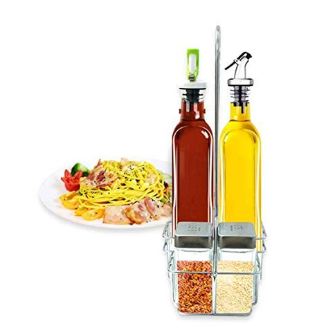 oil stainless steel kitchen micromally bottles bottle knife spouts pouring dispensing pour easy