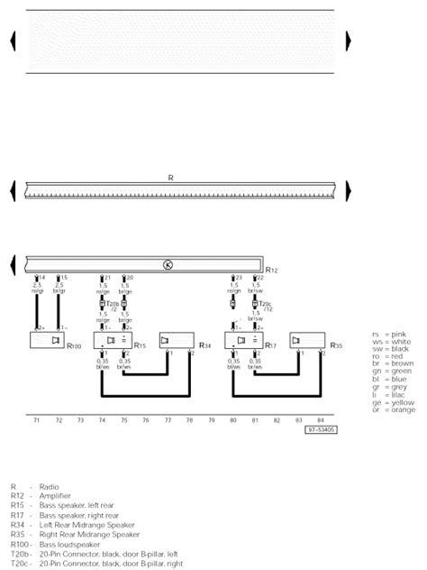 Looking For Correct Raido Wiring Diagram Audi
