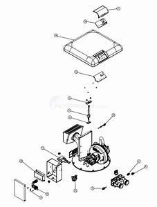 Pentair Mastertemp 125 Heater Burner System Parts