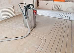 Estrich über Fußbodenheizung : bundesbaublatt ~ Lizthompson.info Haus und Dekorationen