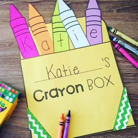 crayon name activity craft and puzzle preschool ideas 728 | dcb528221999eb3432dccaddbc1389ed