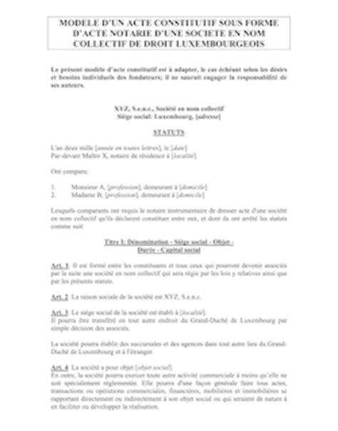 modele de lettre pour reprendre nom de fille mod 232 le de statuts eurl ance cr 233 ation d entreprise