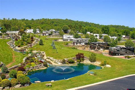 table rock lake rv cing amenities at ozarks rv resort near branson