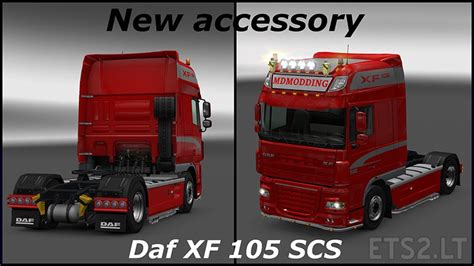 new accessory daf xf 105 by scs ets 2 mods