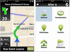 Itinéraire Gratuit Mappy : mappy gps free gps gratuit sur iphone et android ~ Medecine-chirurgie-esthetiques.com Avis de Voitures