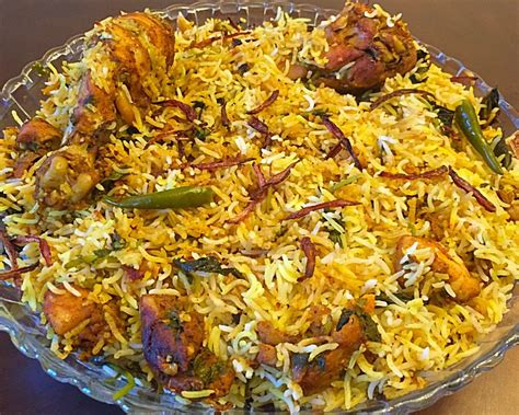 shibas cuisines restaurant style hyderabadi chicken biryani