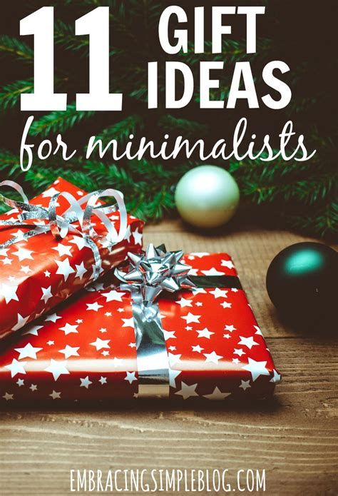 11 gift ideas for minimalists embracing simple