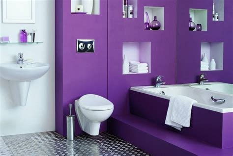 Purple Paint Colors For Bathrooms by 50 Best Pink And Purple Bathroom Ideas Images On
