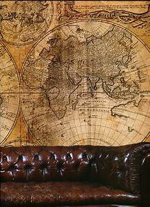 How To Write A Minute Steampunk Wall Mural Map Large G45255 By Galerie