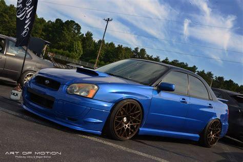 custom blue subaru 2004 subaru impreza wrx for sale wilkesboro north carolina