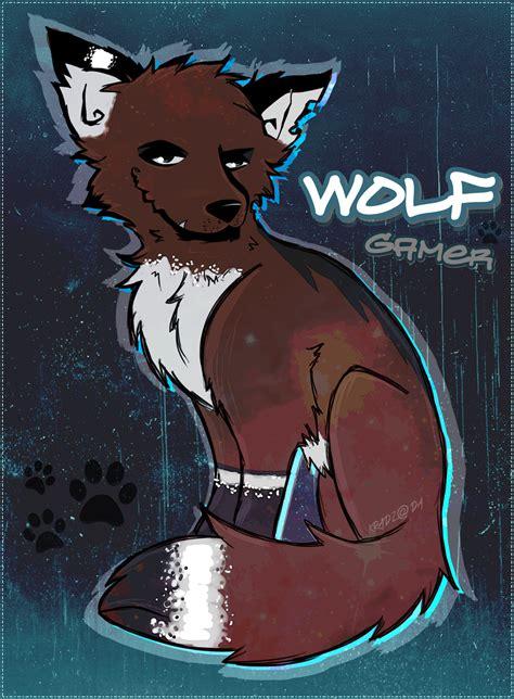 Wolf Gamer 2 By Falldust On Deviantart