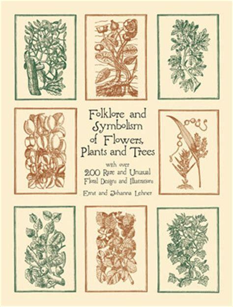 folklore  symbolism  flowers plants  trees  ernst lehner reviews discussion