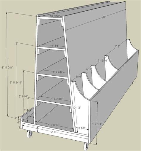 wood storage cart monoloco workshop