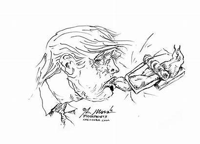 Trump Drawing Holocaust Trap Mouse Fine Getdrawings