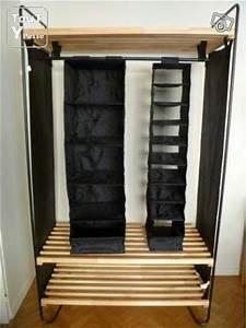 Portant Vetement Bois : meuble portant rangement vetement ikea s te 34200 ~ Teatrodelosmanantiales.com Idées de Décoration