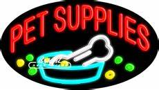 Pet Supplies Neon Sign only $329 99 Signs P