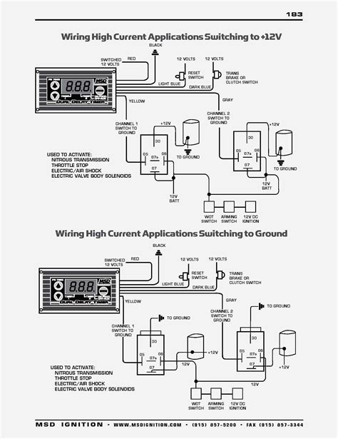 Weapon Wiring Diagram by Msd 6420 System Diagram Wiring Diagram Database