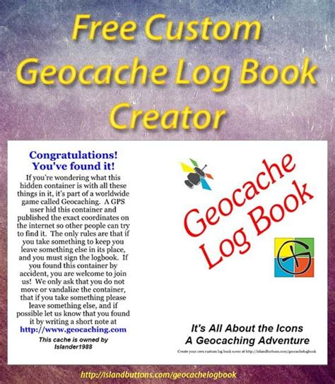 86 best geocaching freebies to print on geocaching journals and logs