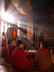 Tibetan Monks    Love The Light In This Photo