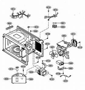 Oven Interior Parts Diagram  U0026 Parts List For Model