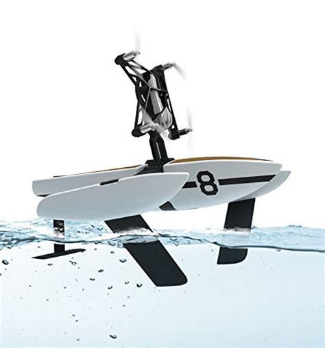 parrot newz air water hydrofoil orak mini drone white focus camera