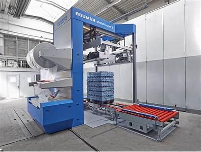 Hood Stretch Beumer Machine Packaging Cemat Russia