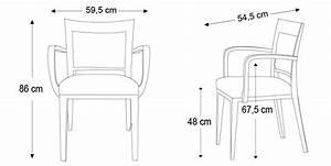 Dimension Chaise Standard : dimension de chaise standard ~ Melissatoandfro.com Idées de Décoration