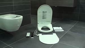 Wc Anschlussstutzen Versetzte Montage : villeroy boch montage dusch wc viclean u youtube ~ Watch28wear.com Haus und Dekorationen