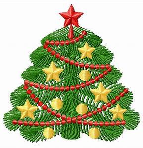 Christmas tree Motifs Machine Embroidery Designs 5x7