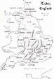 33 Best (1485-1603) Tudor England Maps & Charts images ...