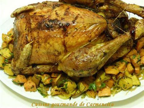 chapon cuisine recettes de chapon et légumes