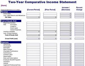 profit and losses template - sample income statement for small business income