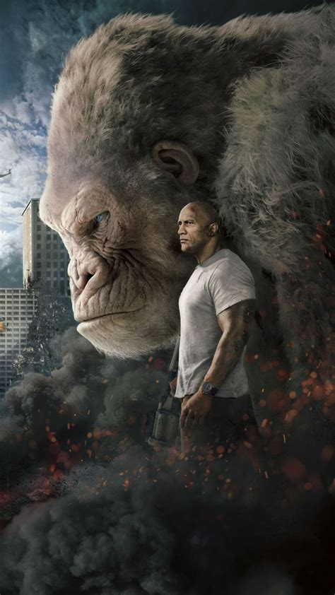 rampage   gorilla poster  wallpaper