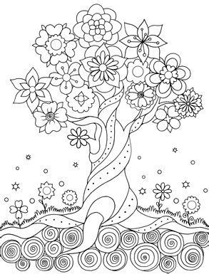 happy coloring easy flowers coloring book for adults by
