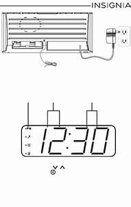 Download Insignia Clock Radio Ns