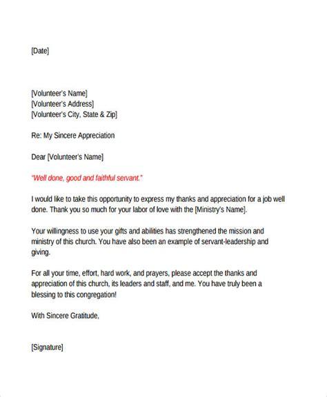 volunteer work application letter sample write