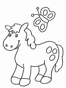 Pony, Ausmalbilder, Kostenlos, Malvorlagen, Windowcolor, Zum