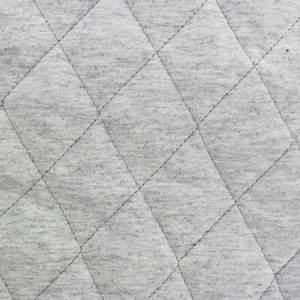 Tissu Gris Chiné : tissu jersey doublure matelass e chin gris clair x 10cm ~ Teatrodelosmanantiales.com Idées de Décoration