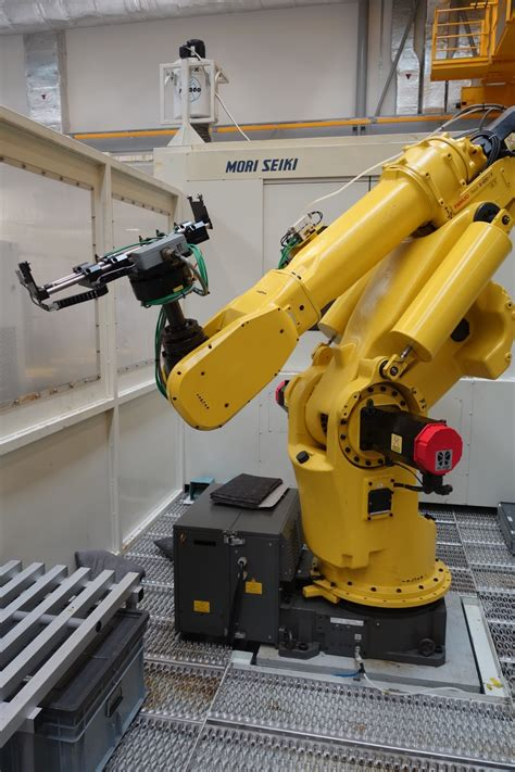 fanuc robot       caging st machinery