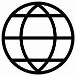 Globe Icon Internet Browser Earth Web Shape