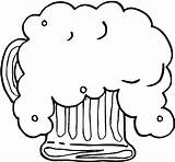 Beer Coloring Pages Fresh Foaming sketch template