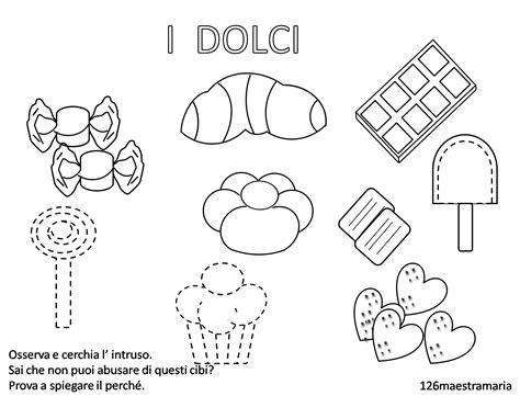 disegni di alimenti disegni di alimenti da colorare maestramaria