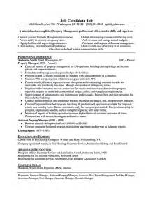 Is There A Resume Template In Microsoft Word Assistant Property Manager Resume Best Business Template