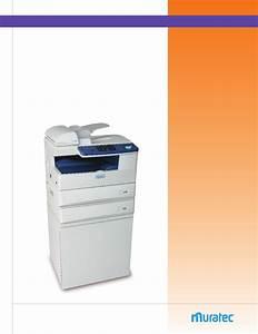 Muratec Fax Machine F300 User Guide