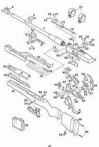 Parts List - Ruger Mini Thirty Rifle